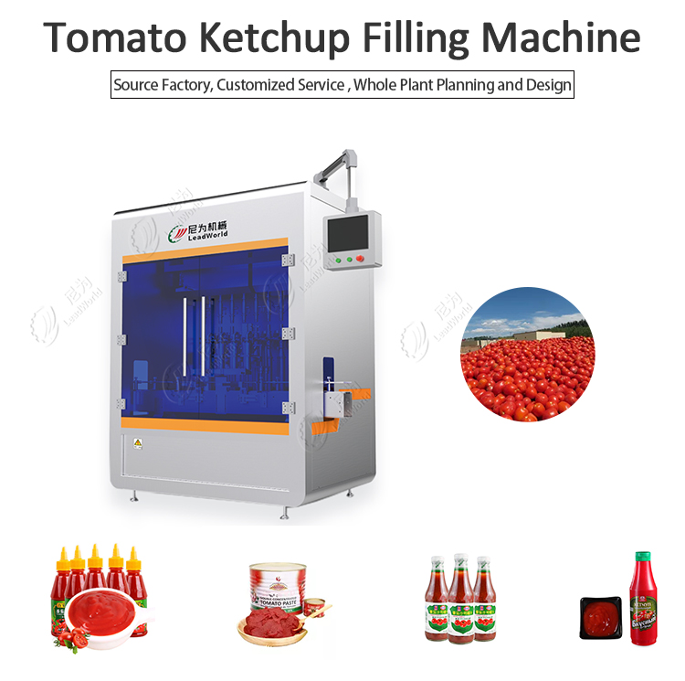 Tomato Ketchup Filling Machine