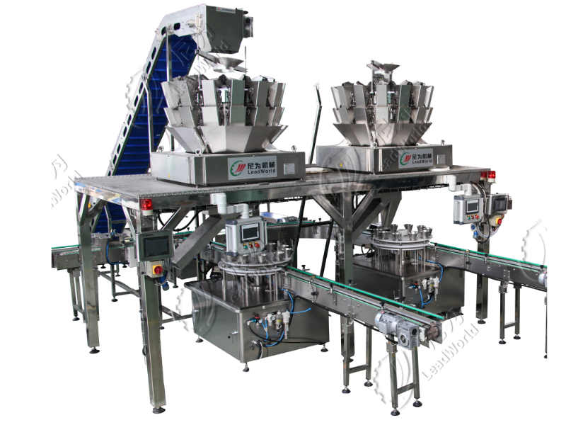 LWT Multihead Weigher Filling Machine