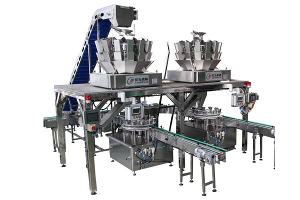 multi-head scale filling machine