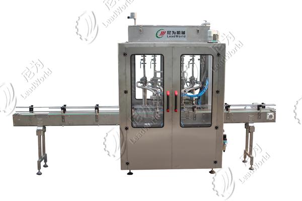 six-head liquid filling machine